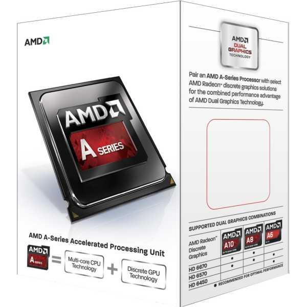 AMD 3.7 GHz FM2 A4-6300 Processor - Green