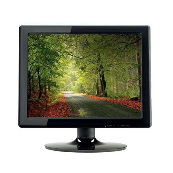 Adcom AD1510 15 Inch LED Monitor - Black