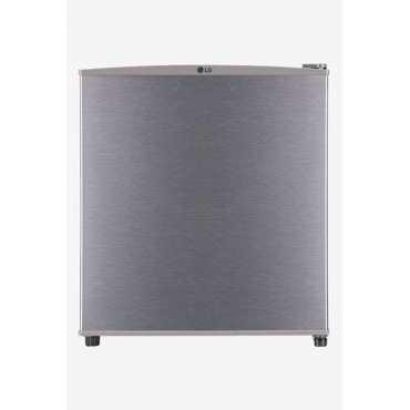 LG GL-B051RDSU 45 L 1 Star Direct Cool Single Door Refrigerator - Steel