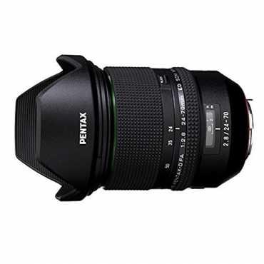 Pentax D-FA 24-70mm F2.8ED SDM WR Lens - Black