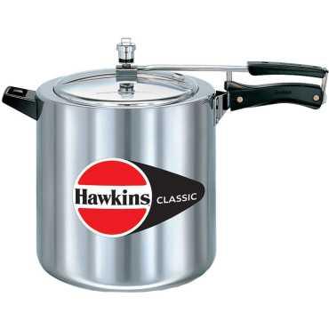 Hawkins Classic CL12 Aluminium 12 L Pressure Cooker (Inner Lid)