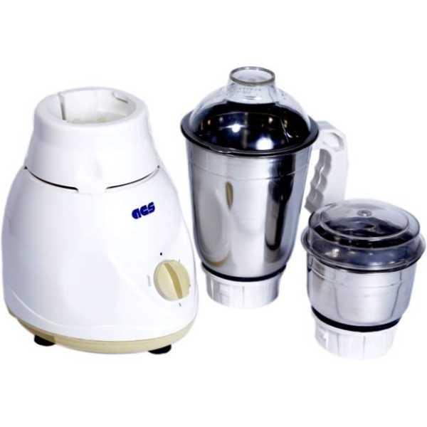 ACS Pride 450W Mixer Grinder (2 Jars) - White