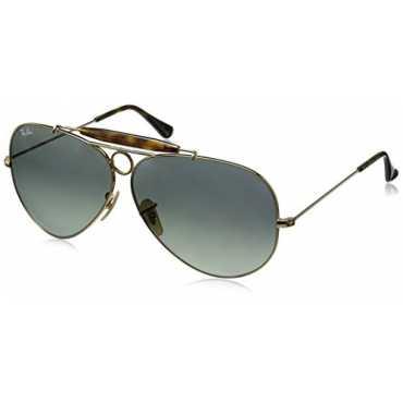 Gradient Aviator Men Sunglasses 0RB3138181 7162 61 millimeters Grey