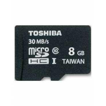 Toshiba SD-C008UHS1 8GB Class 10 MicroSDHC Memory Card