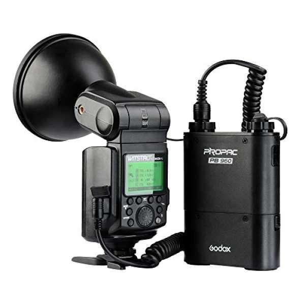 Godox Witstro AD360II-N TTL Powerful Speedlite Flash (for Nikon Camera) - Black