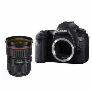 Canon EOS 6D Kit ll DSLR (With 24-70mm Lens)  - Black