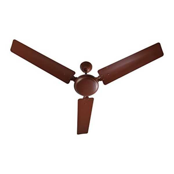 Lazer Champ Air 3 Blade (1200mm) Ceiling Fan - White | Brown