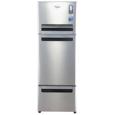 Whirlpool FP 263D Royal Protton 240 Litres Triple Door Refrigerator Alpha Steel