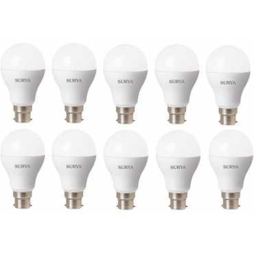 Surya 3W White 270 Lumens LED Bulbs (Pack Of 10) - White