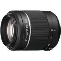 Sony DT 55-200mm F 4-5 6 SAM Telephoto Zoom Lens
