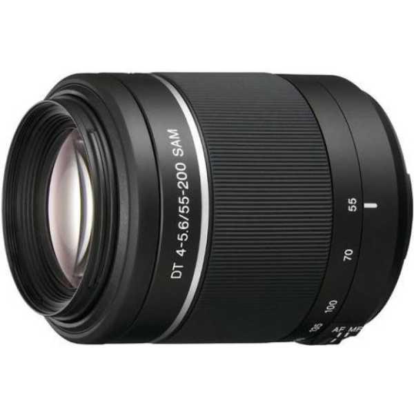 Sony DT 55-200mm F/4-5.6 SAM Telephoto Zoom Lens