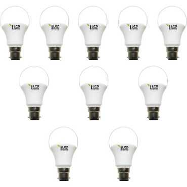 Imperial 9W B22 3604 LED Premium Bulb (White, Pack of 10) - White