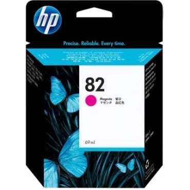 HP 82 69-ml Magenta Ink Cartridge - Pink