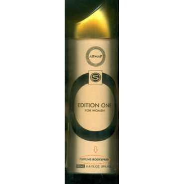 Armaf Edition One Deodorant Spray