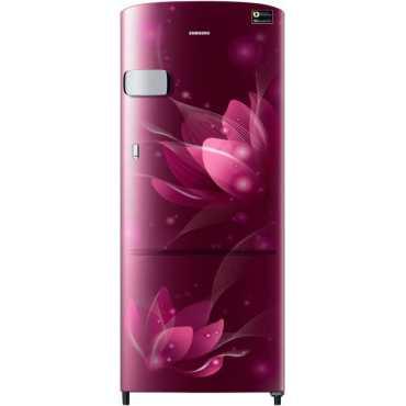 Samsung RR20T1Y2XR8/HL 192L 4 Star Direct Cool Single Door Refrigerator (Saffron Red)