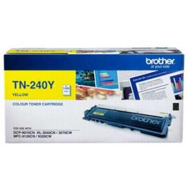 Brother TN 240Y Toner Cartridge - Yellow