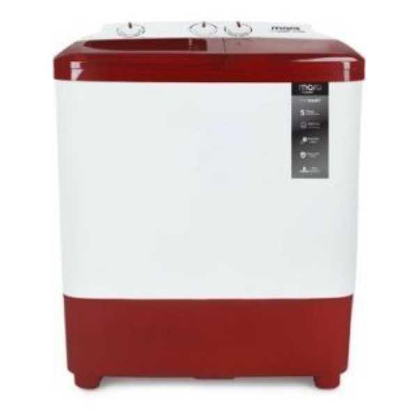 MarQ by Flipkart 6.5 Kg Semi Automatic Top Load Washing Machine (MQSA65DXI)