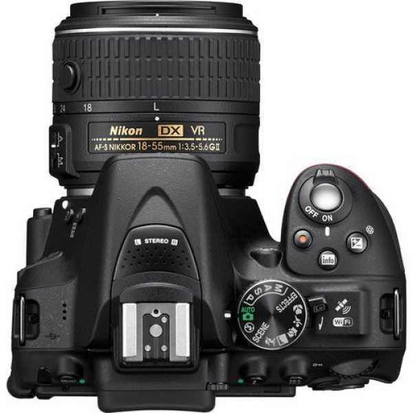 Nikon D5300 DSLR (With AF-P DX Nikkor 18 -55mm f/3.5 - 5.6G VR & 70 - 300mm f/4.5 - 6.3G ED VR Lens) - Black