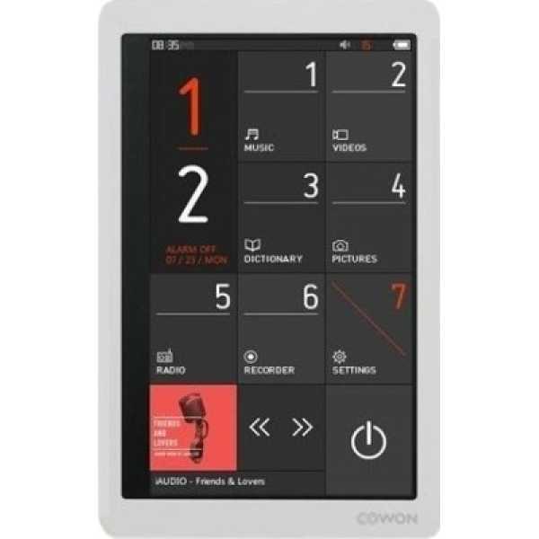 Cowon X9 32GB Video MP3 Player