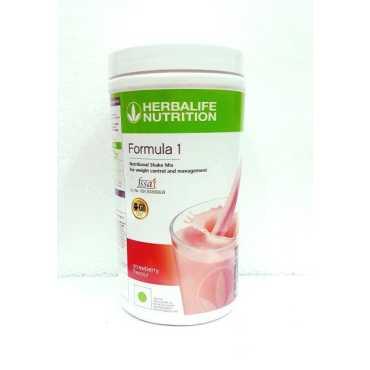 Herbalife Nutritional Shake Mix (500gm, Strawberry)