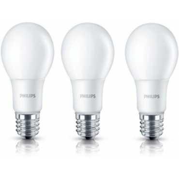 Philips 6W E27 600L LED Bulb White Pack of 3
