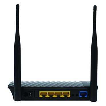 Digisol DG-HR3400 (HW Ver. E1) 300 Mbps Wireless Broadband Home Router - Black