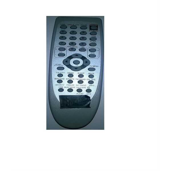 Onida CRT 115A/115D Remote Control