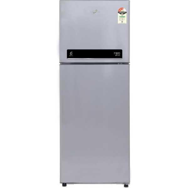 Whirlpool Neo DF278 Roy Plus Illusia Stl 3S 265Ltr Double Door Refrigerator