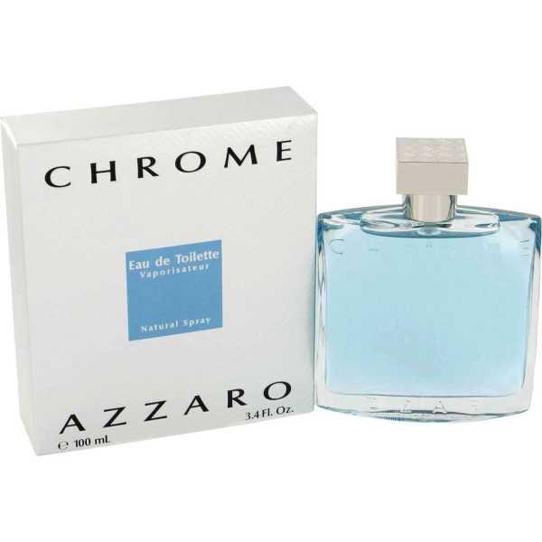 Azzaro Chrome - Set of 2 (2 x 100 ml) EDT - Silver