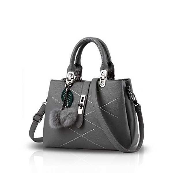 Justawesome Women s Handbag Grey Ja0001