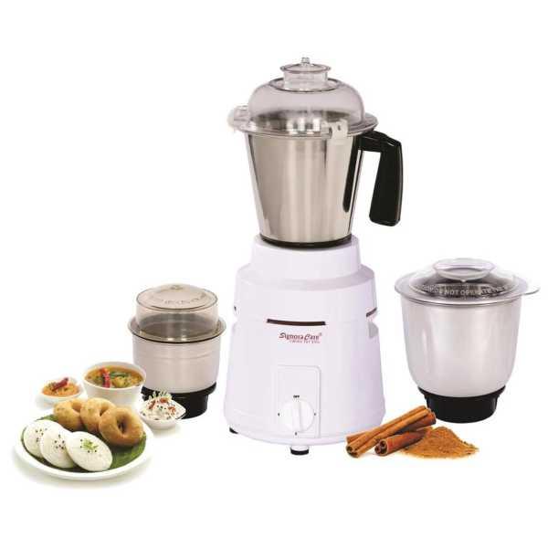 Signoracare Inov 900W Mixer Grinder (3 Jars) - White