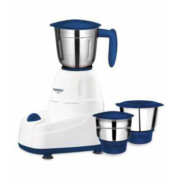 Maharaja Whiteline Vertex 500W Mixer Grinder (3 Jar) - Blue