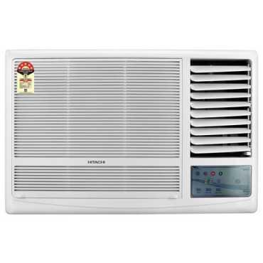 Hitachi Kaze Plus RAW511KUD 1 Ton 5 Star Window Air Conditioner - White | Brown