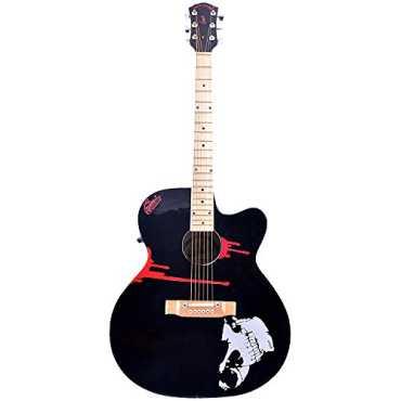 Signature SE010 Gogos Blade Cutaway Acoustic Guitar - Black