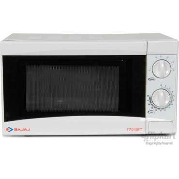 Bajaj 1701 MT Microwave - Black | White | Silver