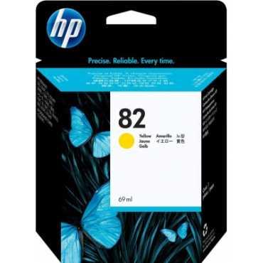 HP 82 69-ml Yellow Ink Cartridge - Yellow