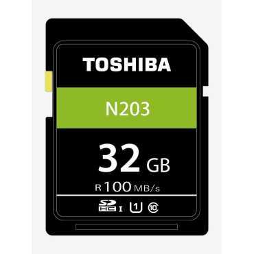 Toshiba N203 32GB Class 10 100MB s SDHC UHS-I Memory Card