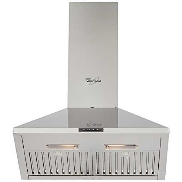 Whirlpool AKR 901 Platinum Chimney (90cm, 2 Baffle Filters) - Silver