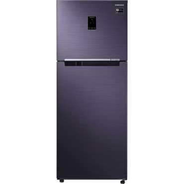 Samsung RT39M5538UT 394L Double Door Refrigerator (Pebble Blue) - Blue