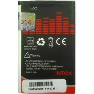 Intex BL4C 850mAh Battery (for Nokia 6100, 2650, 6300, C2, X2) - Black