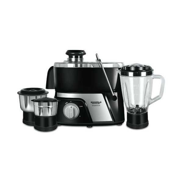 Maharaja Easylock Dlx 550W Juicer Mixer Grinder ( 3 Jars)