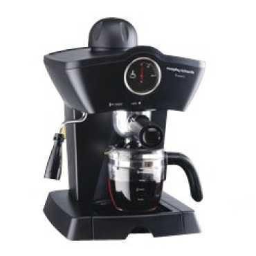 Morphy Richards Fresco Coffee Maker - Black   Brown