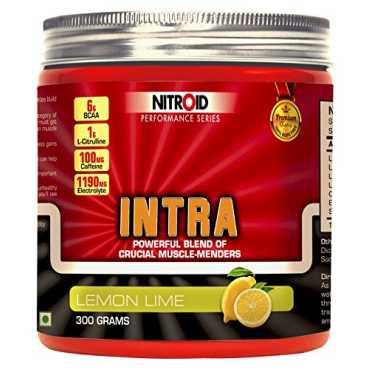 Nitroid Intra Workout Powder 300gm Lemon Lime