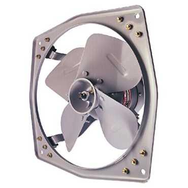 Polar Clean Air 4 Blade (300mm) Select Metal Exhaust Fan - Silver Grey