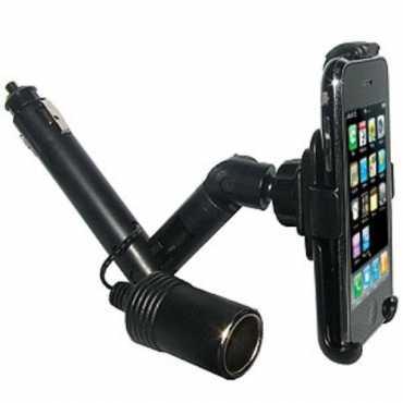 Amzer 20648 Lighter Socket Mount For iPhone 1G 3G 3GS