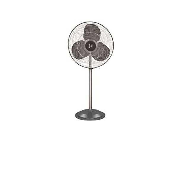 Kent Appliances  Farrata 3 Balde (500mm) Pedastal fan - Silver