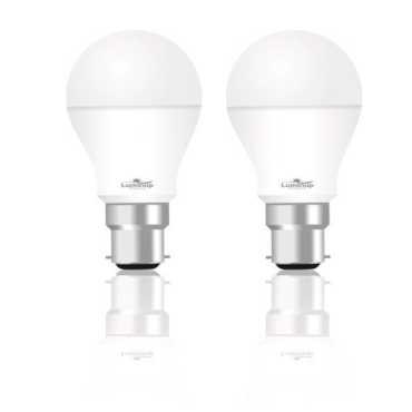 LUMINUP 7W B22 LED Bulb Cool Day Light Pack Of 2