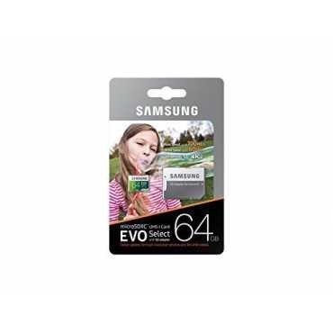 Samsung Evo Select (MB-ME64GA/EU) 64GB 100MB/s Micro SDXC Memory Card (With Adapter)