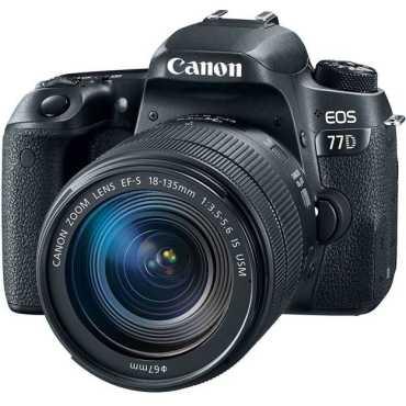 Canon EOS 77D DSLR Camera (EF-S 18-135mm f/3.5-f/5.6 IS USM Kit Lens)