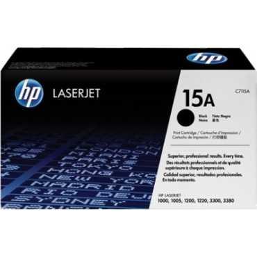 HP 15A Black LaserJet Toner Cartridge - Black